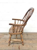 Antique Child's Windsor Chair (4 of 8)