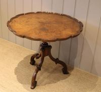 Good Quality Low Walnut Table (10 of 10)