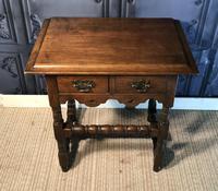 Oak Hall Table (5 of 9)