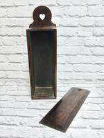 Oak Candle Box - Georgian (3 of 5)