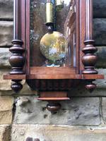 Antique Double Weight Vienna Wall Clock (6 of 9)