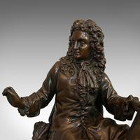 Antique Fontaine Figure, French, Bronze, Statue, after Ernest Rancoulet c.1920 (2 of 12)
