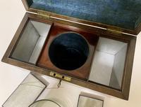 Antique Georgian Mahogany Tea Caddy Box (6 of 12)