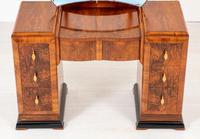 Art Deco Walnut Dressing Table (5 of 8)