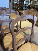 Set of Six Oak Chairs (5 of 6)