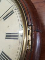 Double Fusee Wall Clock C1860 (4 of 9)