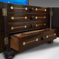 Antique Gentleman's Correspondence Box, Campaign, Travel Case, Regency, C.1820 (3 of 12)