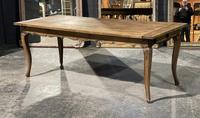 French Oak Farmhouse Kitchen Dining Table (17 of 18)