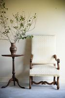French Walnut Open Armchair (9 of 12)