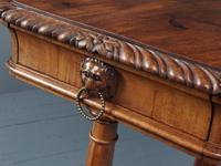 Antique Regency Mahogany Side Table (12 of 19)