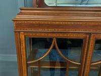 Inlaid Mahogany Edwardian Display Cabinet (5 of 12)