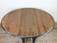 Early 20th Century Antique Oak Gateleg Table (6 of 12)