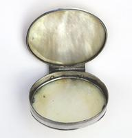 Fine European & Chinese Silver & Mop Carved Novelty Snuff Box 17th/18th Century (9 of 12)