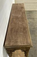 Wonderful French Walnut Console Table (5 of 36)