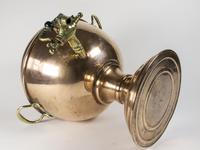 Victorian / Edwardian Copper & Brass Samovar (6 of 7)