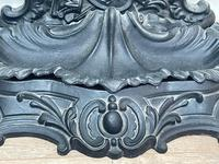 Art Nouveau Style Black Heavy Cast Iron French Nubile Umbrella Stand Corneau Alfred A Charlesville No 27 (16 of 41)