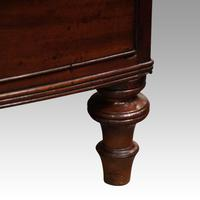 Regency mahogany bow fronted chest (7 of 7)