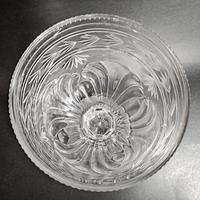 Large 19th Century Cut Glass Vase (5 of 5)