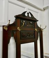 Victorian Mahogany Hall Stand (2 of 8)
