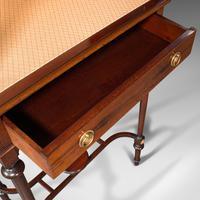 Antique Raised Pier Cabinet, English, Mahogany, Display Case, Edwardian, C.1910 (9 of 12)