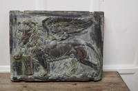 Heavy Bronze Effect Wall Plaque Depicting the Winged Lion of St Mark, Venice (2 of 11)