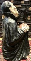 Huge Old Fairground Dracula Sculpture  Ghost Train Figure (4 of 9)