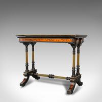 Antique Card Table, Ebonised, Games, Gillow & Co, Aesthetic Period c.1875 (9 of 12)