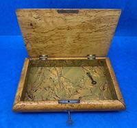 Russian Burr Ash Table Box (5 of 14)