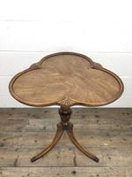 Antique Mahogany Tripod Side Table (4 of 9)