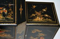 Art Deco Lacquered Chinoiserie Drinks Cabinet / Sideboard (11 of 16)