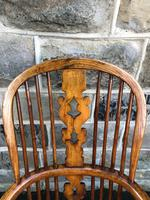 Antique Ash & Elm Windsor Armchair (4 of 10)