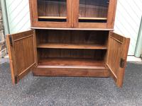 Arts & Crafts Glazed Oak Bookcase (2 of 11)