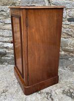 Antique Victorian Mahogany Bedside Pot Cupboard (4 of 16)