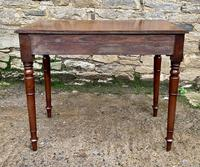 Antique Victorian Mahogany Side Table (8 of 17)