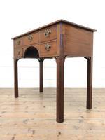 Antique Oak Side Table (5 of 9)