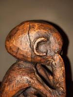 Early 20th Century African Carved Wooden Stylized Sculpture (12 of 12)
