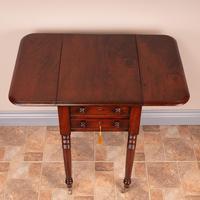 19th Century Mahogany Pembroke Work Table (11 of 13)