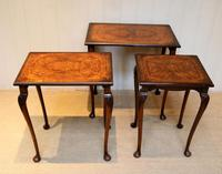 1930s Walnut Nest Of Tables (5 of 10)