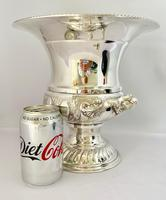 Superb Silver Plated Wine Cooler (10 of 10)