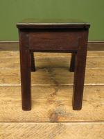 Unusual Antique Victorian Stool, Cobblers Stool, Milking Stool, Farriers Stool (12 of 12)