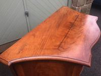 Antique Mahogany Serpentine Chest of Drawers (11 of 11)