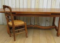 Os De Mouton Oak Extending Dining Table (4 of 11)