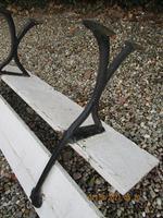 Victorian Cast Iron & Wood Garden Bench (5 of 5)