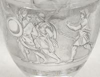 Antique Victorian Sterling Silver Jug 1871 - Roman Soldiers (2 of 10)