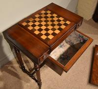 William IV Mahogany Games Table (10 of 13)