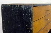 Vintage Black Painted Carpenters Tool Drawers (3 of 8)