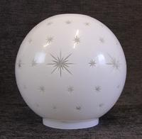 Antique Opaque Oil Lamp Shade / Globe (3 of 4)