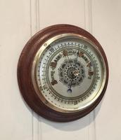 Edwardian Oak Aneroid Barometer c.1901 (5 of 8)