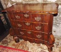 Dutch oak small chest of drawers. 18th century (8 of 9)