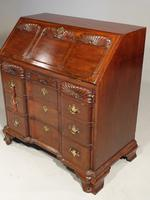 Beautifully made George III Period Mahogany Bureau in the American Taste (5 of 5)